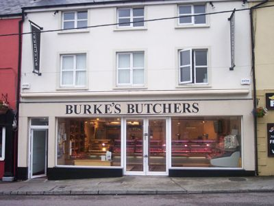 Renovation of Burke's Butchers, Milltown